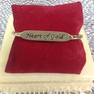 Jewelry - HEART OF GOLD BRACELET